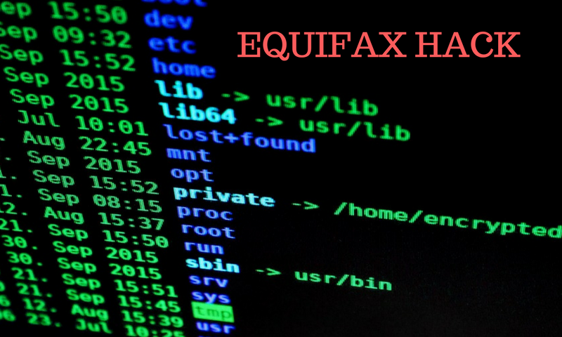 Good Lessons from the Equifax Hack