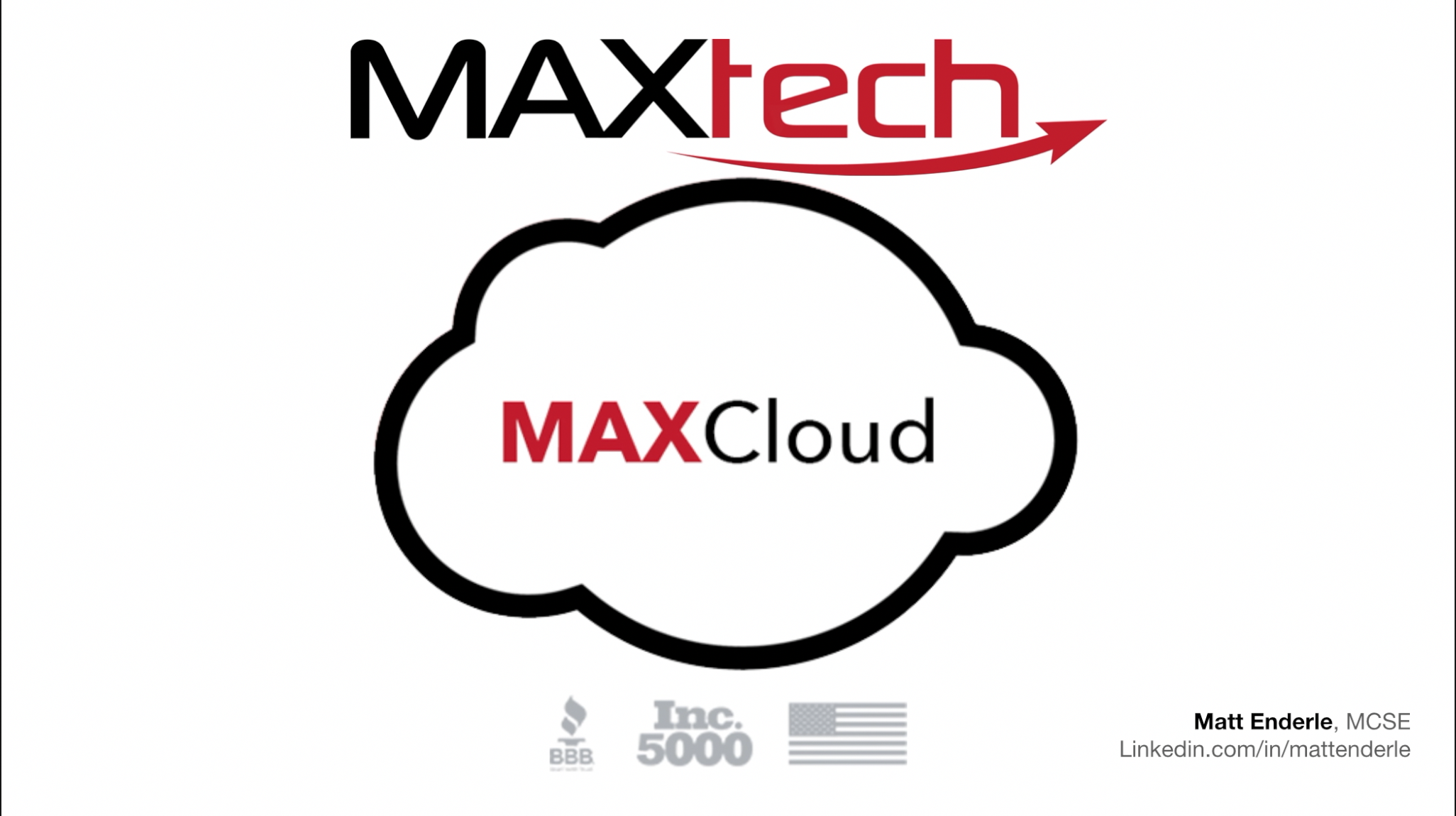 MAXcloud - What is It?