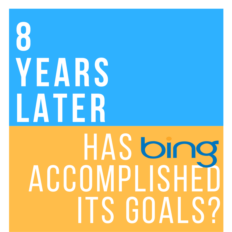 8 Years Later: Has Bing Accomplished Its Goals?